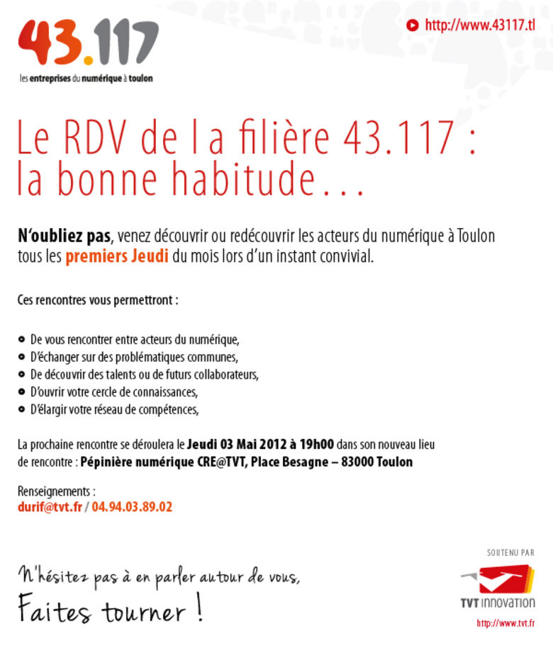rencontres numeriques 2012